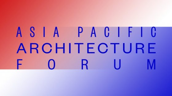 Queensland to host the inaugural Asia Pacific Architecture Forum in 2016
