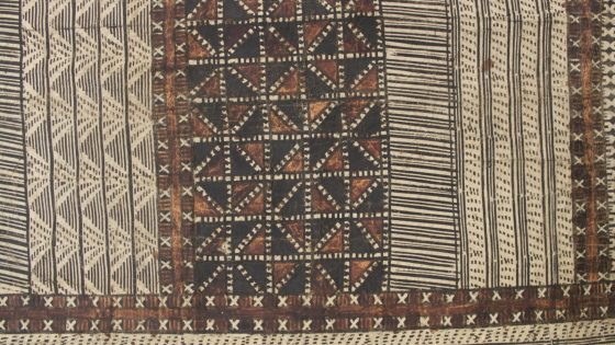 Fiji: the making of barkcloth