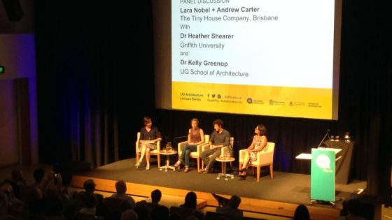 Review: UQ Architecture Lecture with Lara Nobel and Andrew Carter
