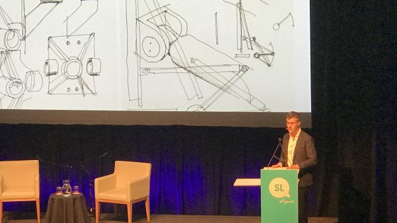 Review: 2017 UQ Architecture lecture with William Smart