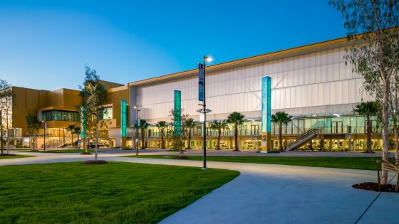 Sports venues at Gold Coast Open House