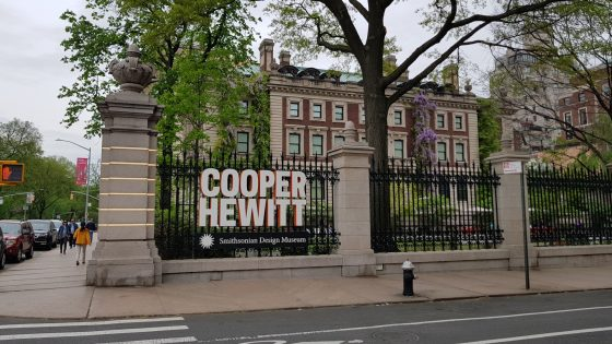 First fortnight at the Cooper Hewitt Smithsonian Design Museum